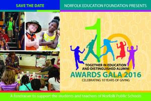 Register Today! 10th Annual Together In Education & Distinguished Alumni Awards Gala - Tuesday, Nove