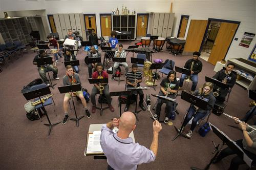 The homegrown secret to Norfolk students' success in music classes